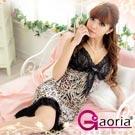 【Gaoria】激愛遊戲-豹紋斑馬印花 蕾絲花邊情趣睡衣