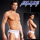 美國Blue Line-拳擊手提臀男用褲-潮流白 (L/XL)