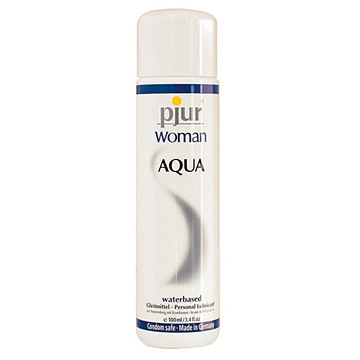 Pjur《Woman AQUA純淨水性潤滑液》女性專用