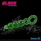 GLASS-綠野仙蹤-玻璃水晶後庭冰火棒(Anus 31)