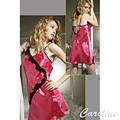 Caroline豔麗火紅性感睡衣