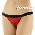 Caroline 紅色熱情丁字褲
